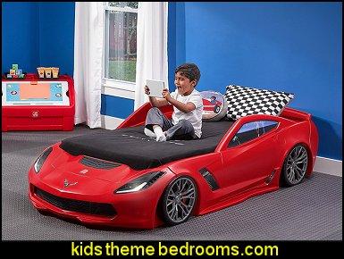 Car Themes For Boys Rooms Race Car Bedroom Decorating Nascar Hot Wheels Flames Race Cars Theme Beds Car Racing Theme Bedrooms Boys Sports Theme Bedroom