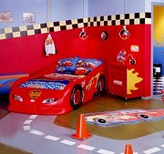 Decorating Kids Cars Bedroom   Decorating Kids Cars Bedroom Race Car