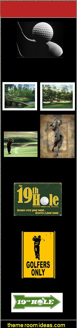 Posters golf wall art golf themed wall decorations golf themed posters