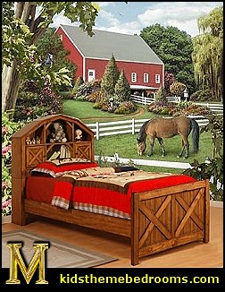 John Deere Farm Theme Bedrooms Tractor Theme Beds John