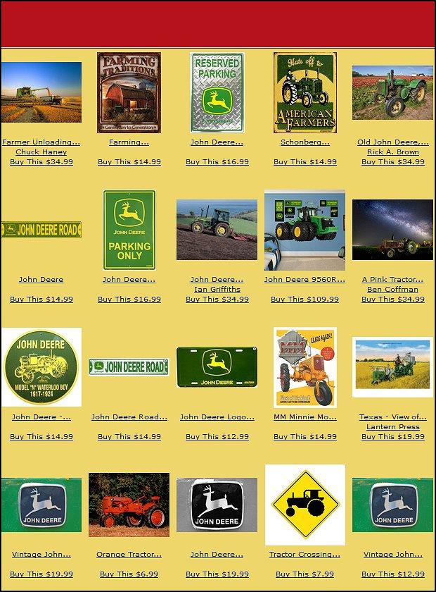 John Deere Farm theme bedrooms tractor theme beds John Deere bedding ...