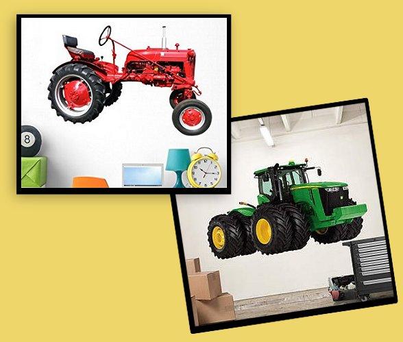 John Deere Farm Theme Bedrooms   Tractor Theme Beds John Deere Bedding    Farm Murals   Country Farm Animal Stick Ups   Baby Barnyard Nursery   John  Deere ...