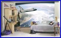 Good Space Shuttle Mural Wallpaper Part 31